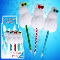 Snowman Holiday Pen - Christmas - Holiday Gifts - School Shop Smart