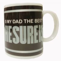 "Dad Mug - ""HESUREIS"" Best Dad - Gifts for Dads - School Shop Smart"