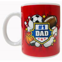 Dad Mug with Sports Theme - Gifts for Dads - School Shop Smart