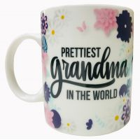 Prettiest Grandma Mug - Grandma Gifts - School Shop Smart
